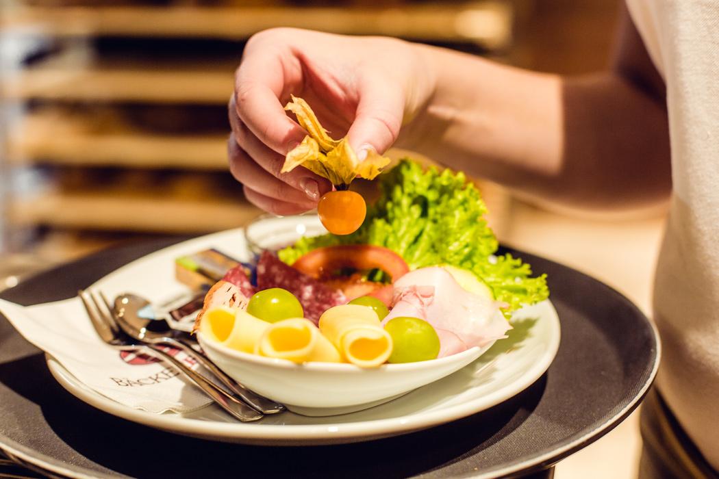 Frühstücken in Riedenburg bei Bäcker Frank