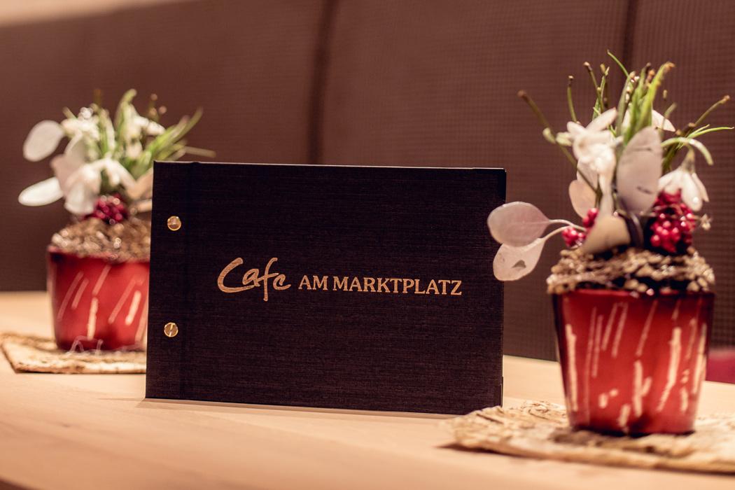 Speisekarte im Café Bäckerei Frank in Riedenburg