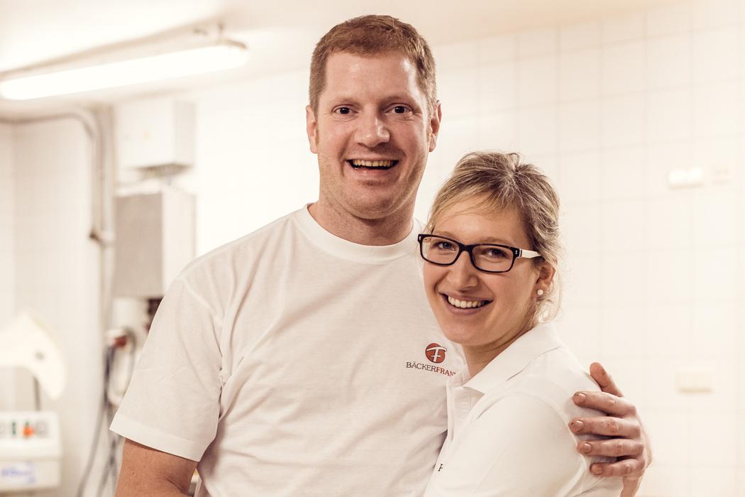 Das junge Team der Bäckerei Frank in Riedenburg